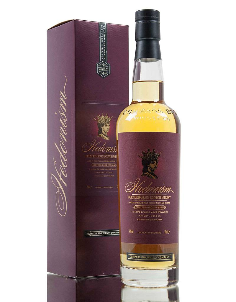 Compass Box Compass Box Hedonism Blended Grain Scotch Whiskey