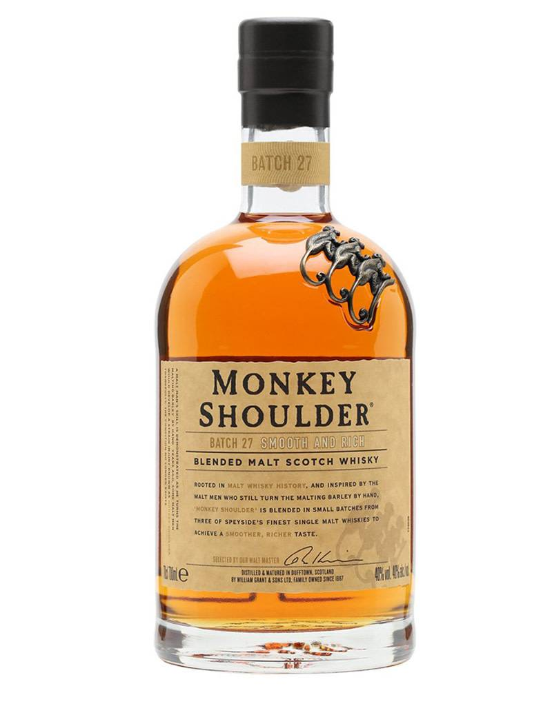 Monkey Shoulder Monkey Shoulder Batch 27 Blended Malt Scotch Whisky, Speyside, Scotland