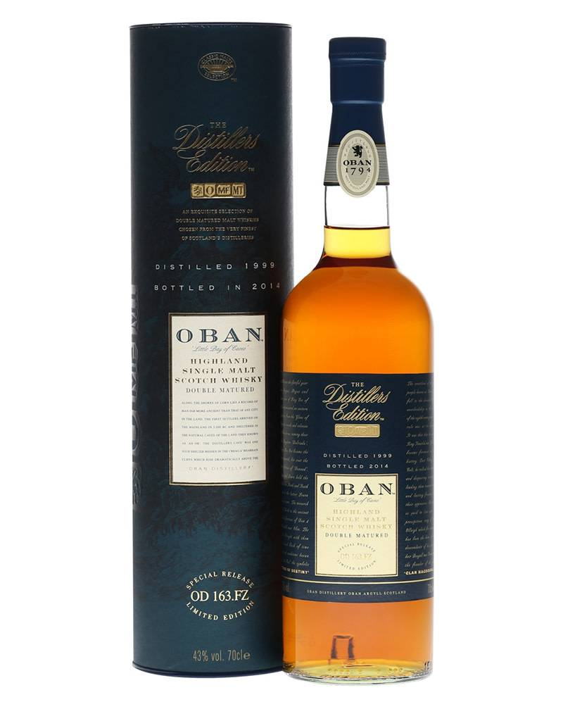 Oban OBAN The Distillers Edition Single Malt Scotch