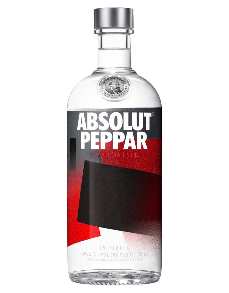 Absolut Distelleries Absolut Peppar Vodka, Sweden
