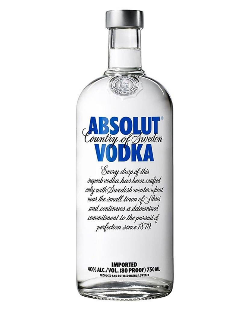 Absolut Distelleries Absolut Vodka, Sweden 1.75L
