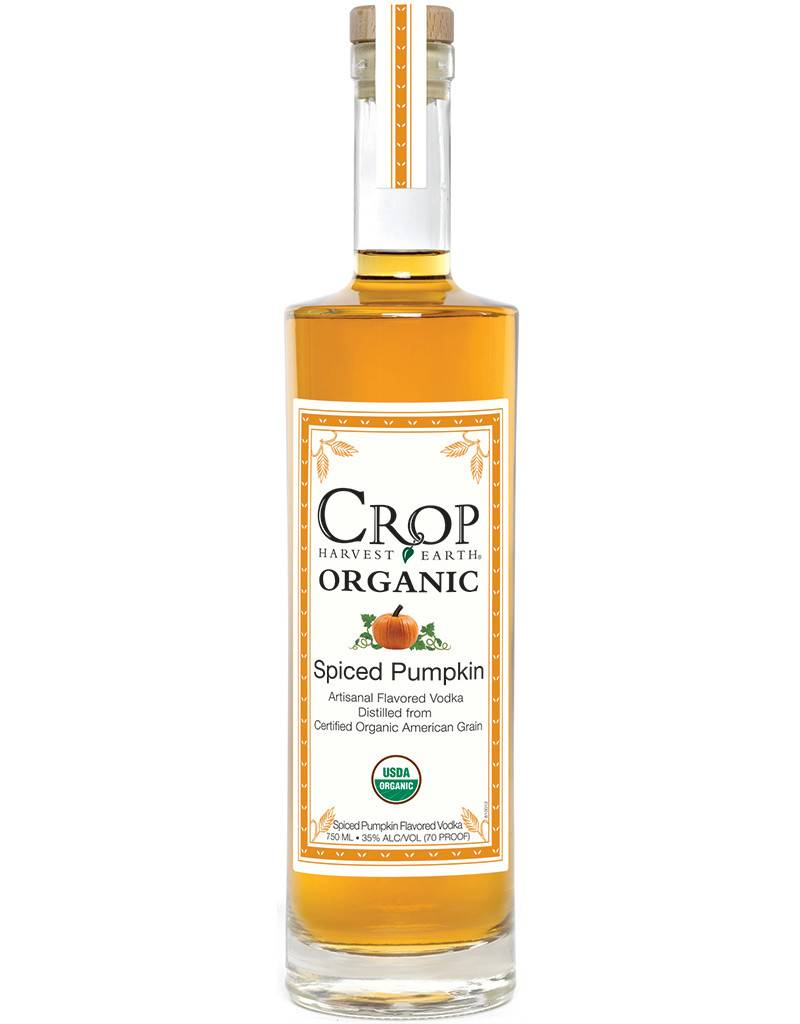 Crop Harvest Earth Co. Crop Organic Spiced Pumpkin Vodka
