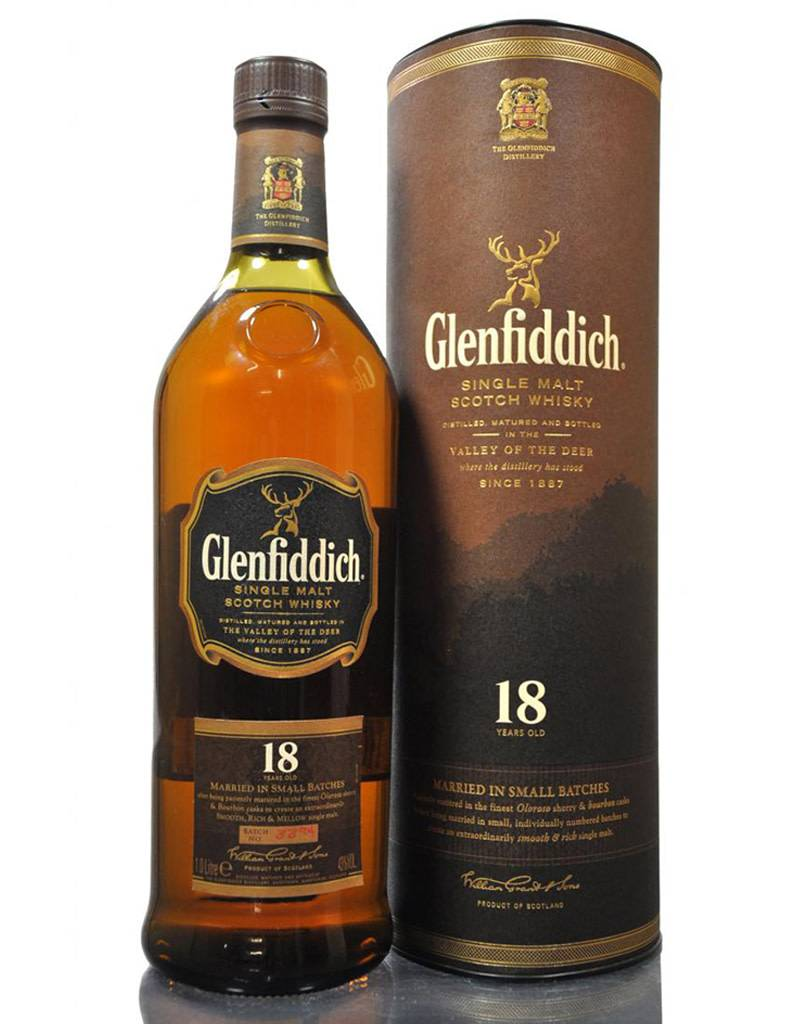 Glenfiddich Glenfiddich 18 Year Whisky (Brown)