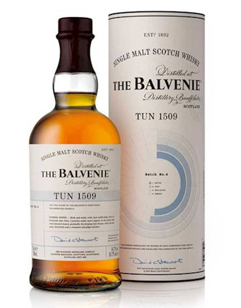 The Balvenie Tun 1509, Batch 4, Single Malt Scotch Whisky
