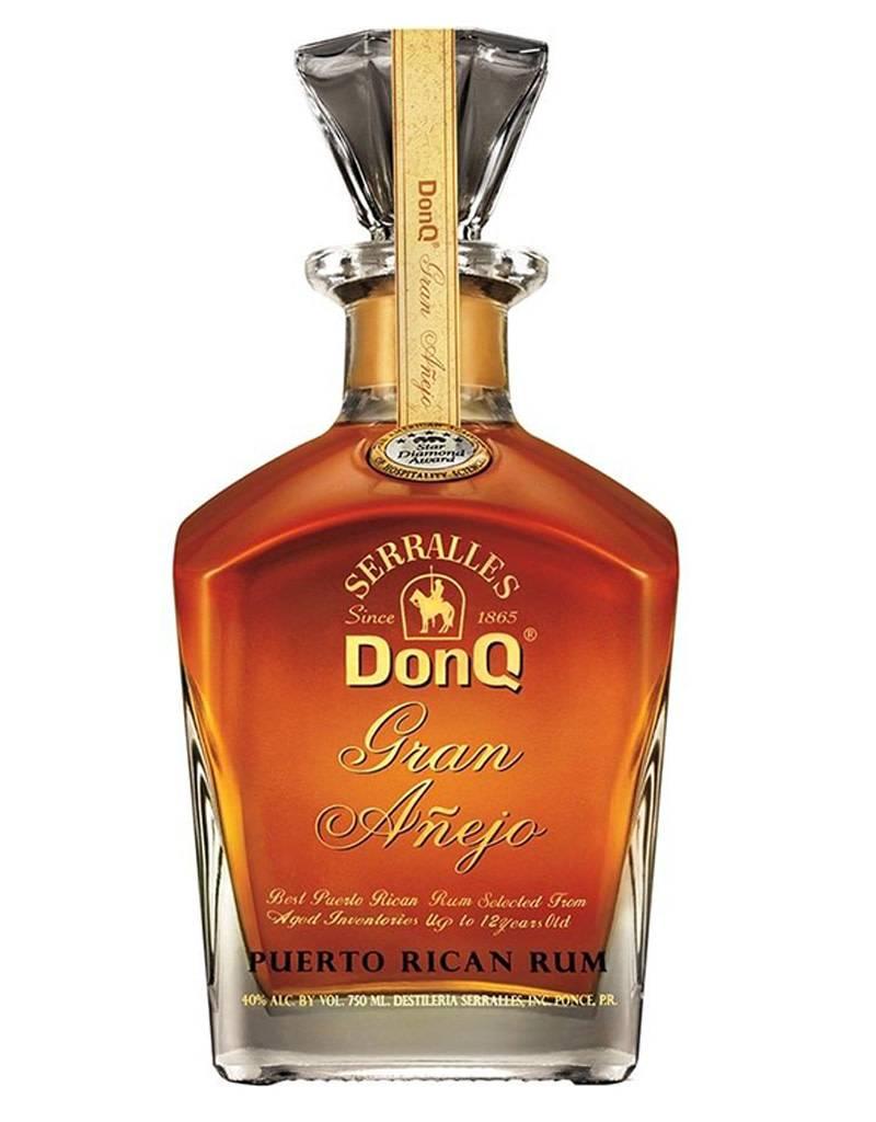 Don Q Don Q Gran Añejo Rum, Puerto Rico