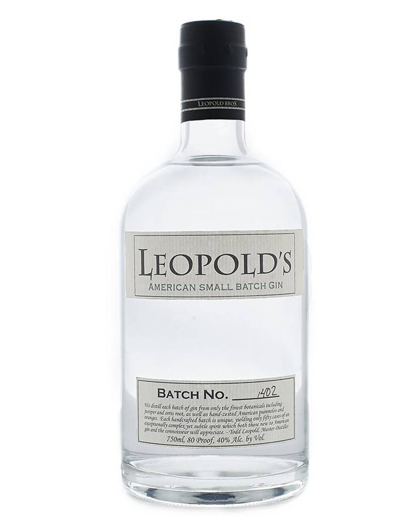 Leopold Brothers Leopold Brothers Small Batch Gin