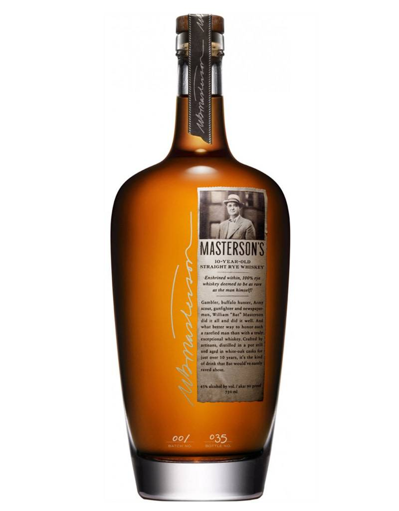 35 Maple Street Inc. Masterson's 10 Year Old Rye Whiskey