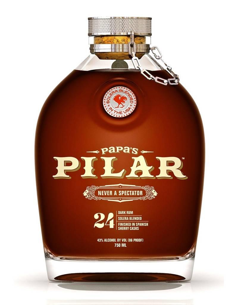 Papa's Pilar Papa's Pilar 24 Year Old Solera Dark Rum, Florida