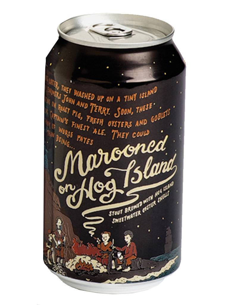 21st Amendment Marooned on Hog Island Stout, Single Can