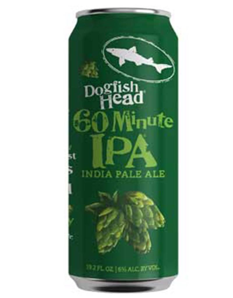 Dogfish Head 60 Minute IPA, 19.2oz Single Can