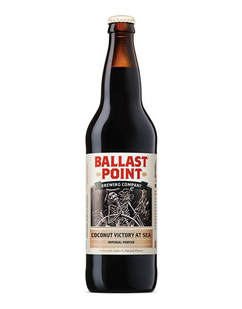 Ballast Point Brewing Company Ballast Point Coconut Victory at Sea Imperial Porter, Pint