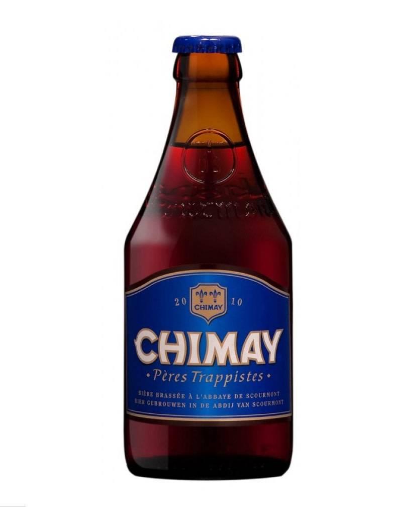 Chimay Pères Trappistes Grande Réserve Bière Ale (Blue) Beer, 4pk
