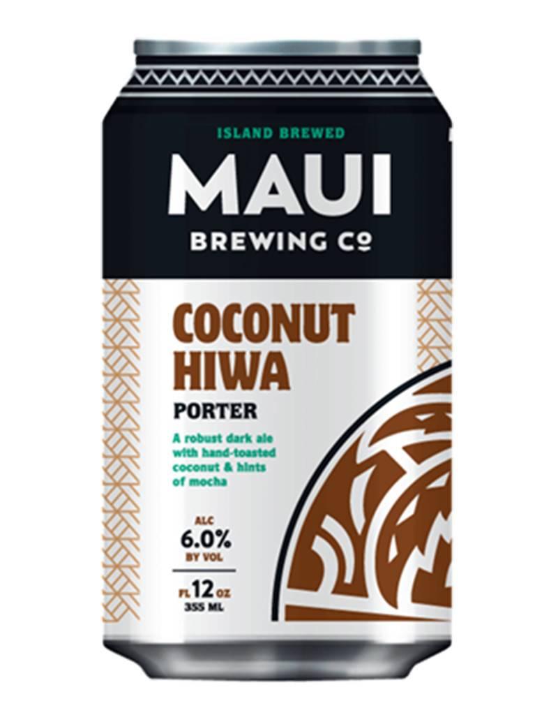 Maui Maui Brewing Co. Coconut Hiwa Porter Maui 4pk Cans