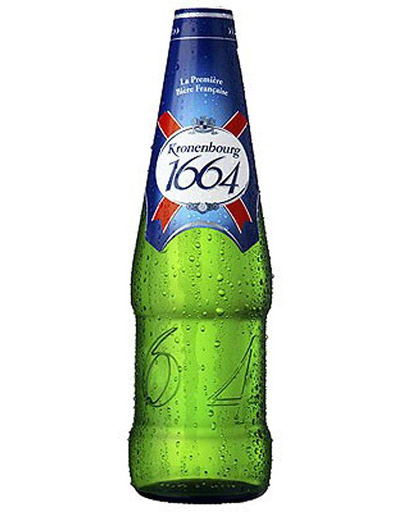 Kronenbourg 1664 French Beer, 6pk