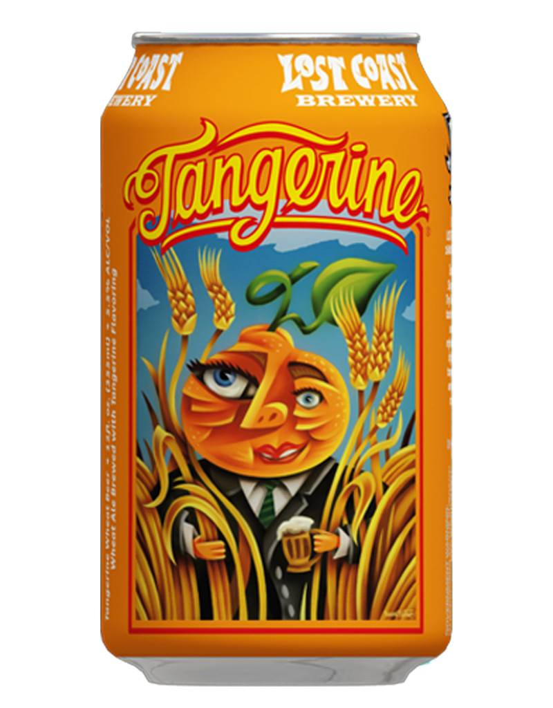 Lost Coast Brewery Lost Coast Brewery Tangerine Wheat Ale, 6pk Can