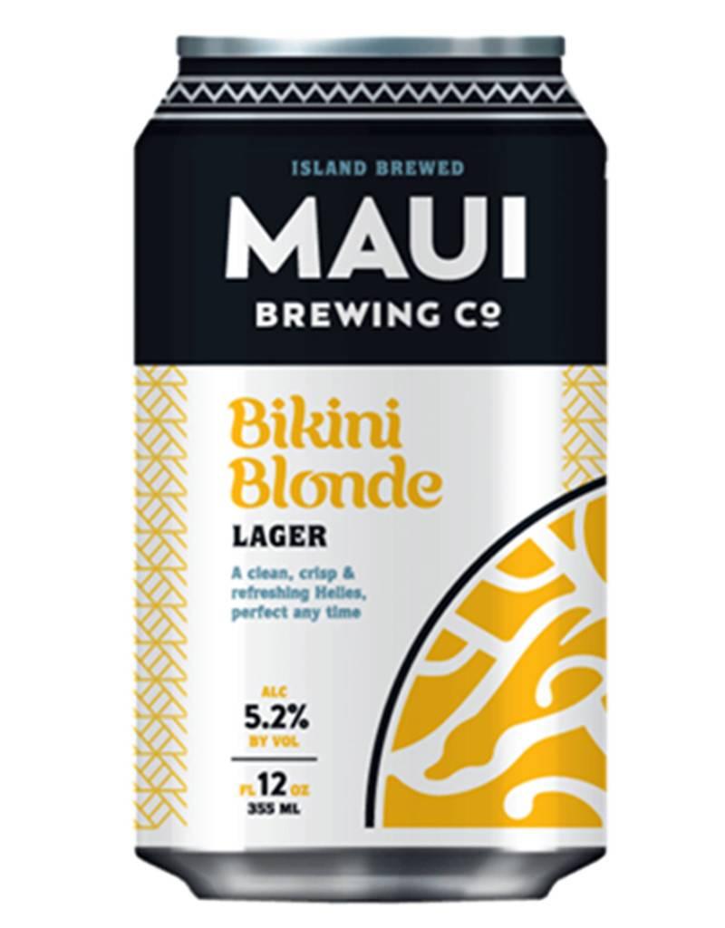 Maui Brewing Co. Bikini Blonde Lager, Hawaii  6pk Cans