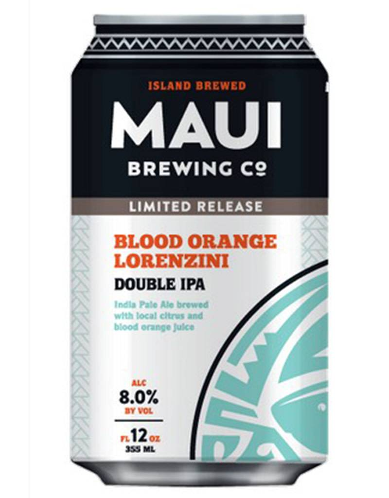 Maui Brewing Co. Maui Brewing Co. Blood Orange Lorenzini Double IPA, 4pk
