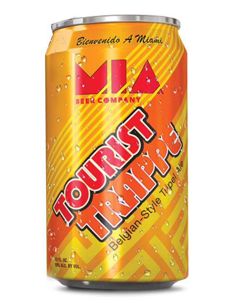 Miami Beer Company Miami Beer Co. Tourist Trappe Belgium-Style Triple Ale, 6pk Cans, Florida