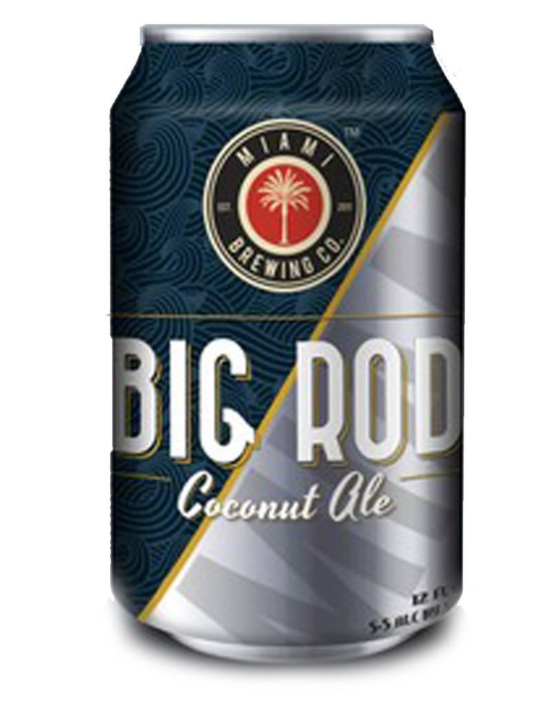 Miami Brewing Co. Miami Brewing Co. Big Rod Coconut Ale, 6pk Cans
