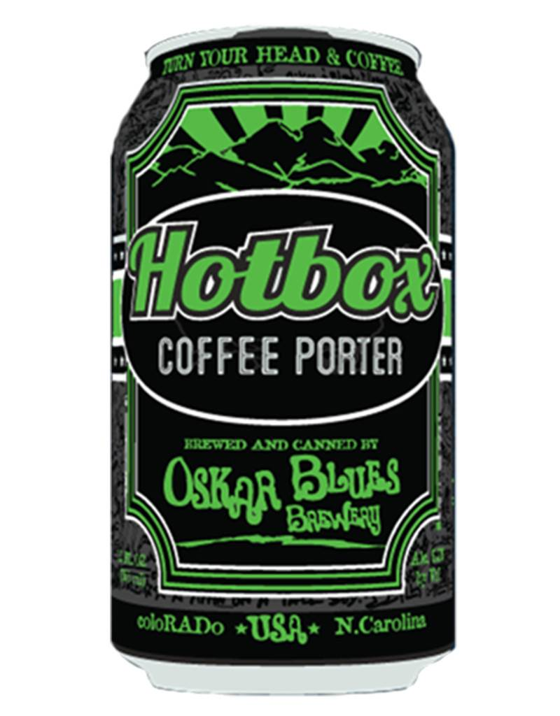 Oscar Blues Hotbox Coffee Porter, 4pk