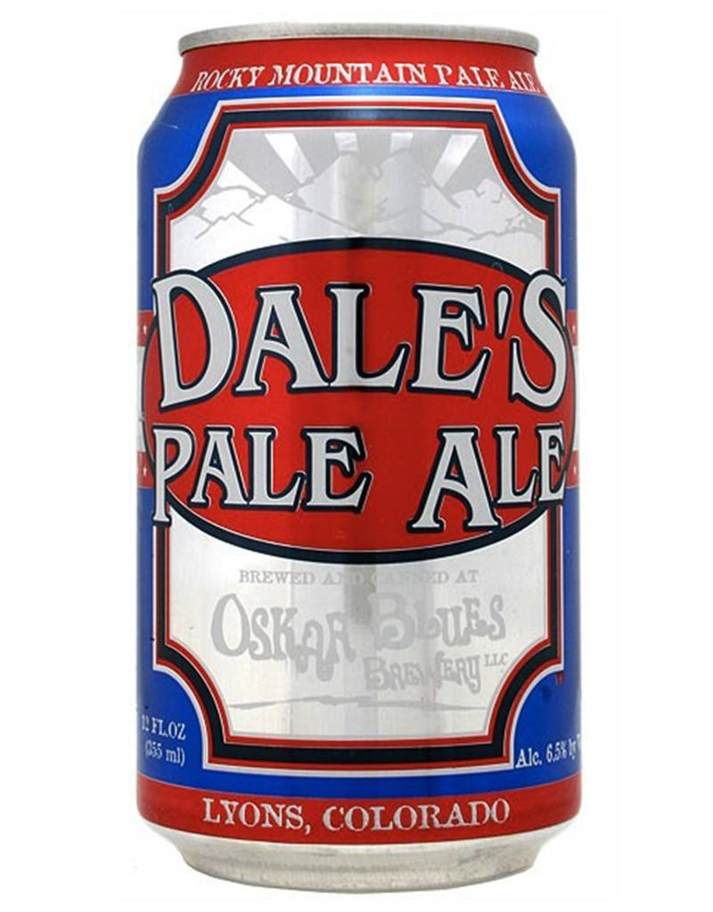 Oskar Blues Brewey Oskar Blues Dale's Pale Ale Beer, 6pk Cans