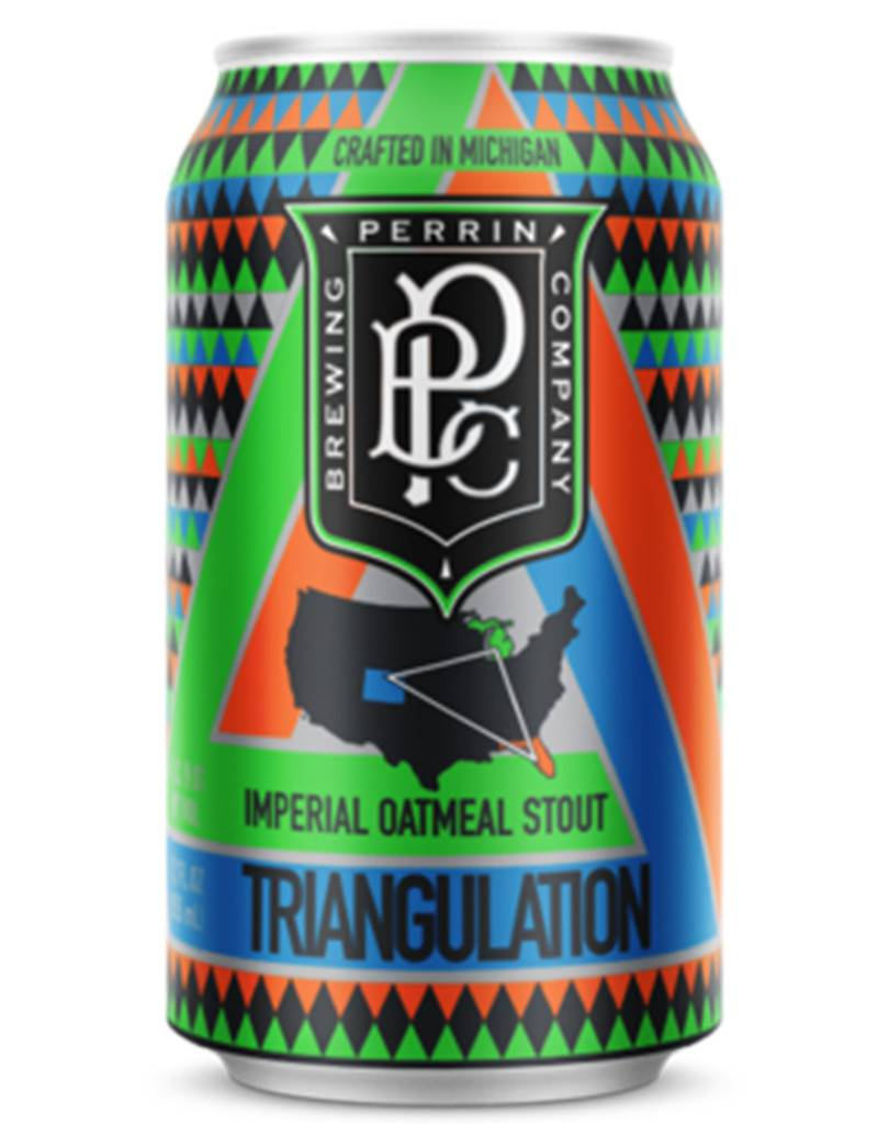 Perrin Brewing Company Triangulation Imperial Oatmeal Stout Single