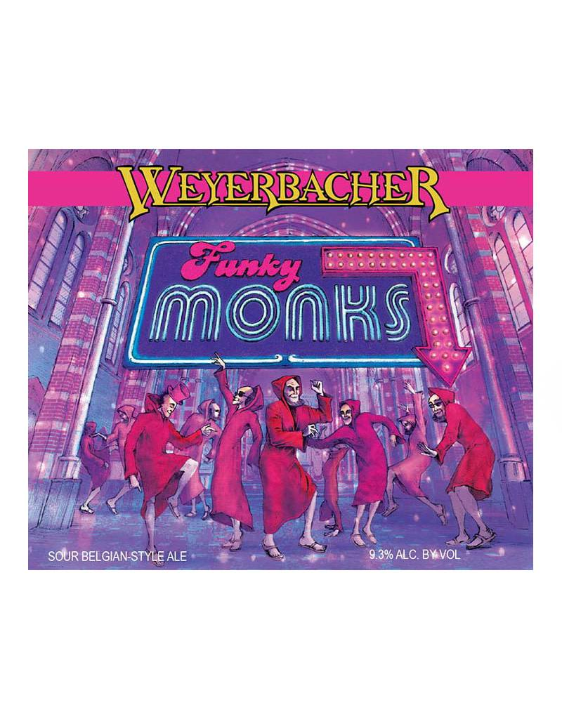 Weyerbacher Brewing Co. 'Funky Monks' Sour Belgian Ale, 6pk Cans