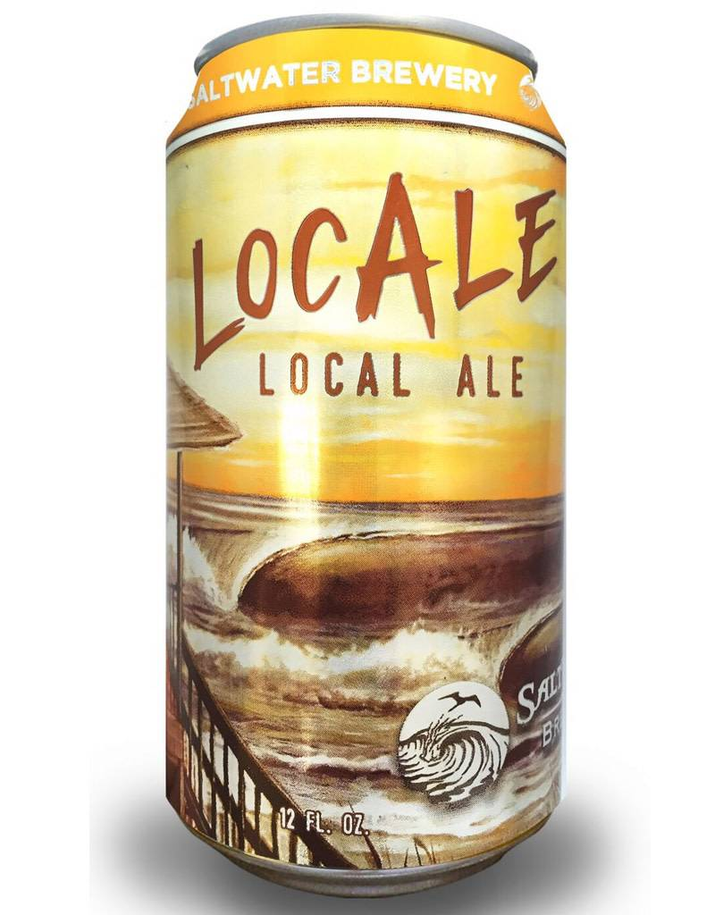 Saltwater Brewery Saltwater Brewery Locale Local Ale, 6pk Cans