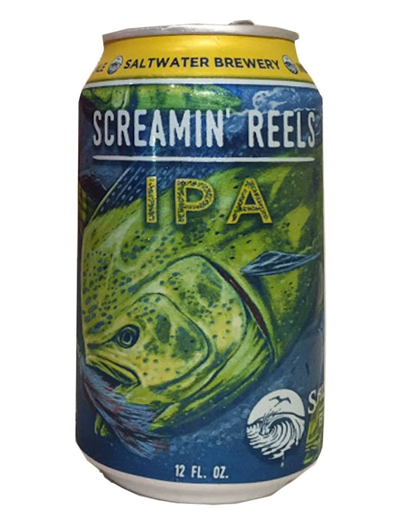 Saltwater Brewery Saltwater Brewery Screamin' Reels Tropical IPA, 6pk Cans