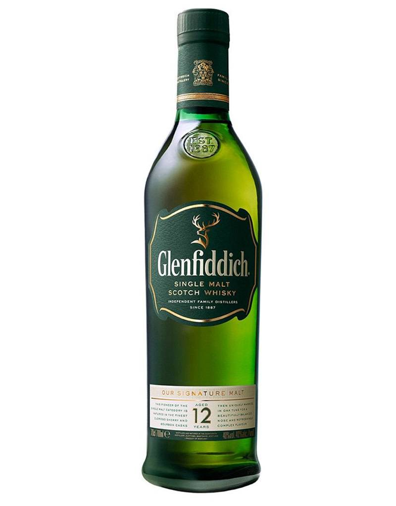 Glenfiddich Glenfiddich 12 Year Single Malt Scotch (Green), 375mL