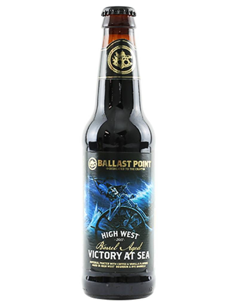 Ballast Point Brewing Company Ballast Point Victory at Sea 'High West' Imperial Porter, 4pk Bottles