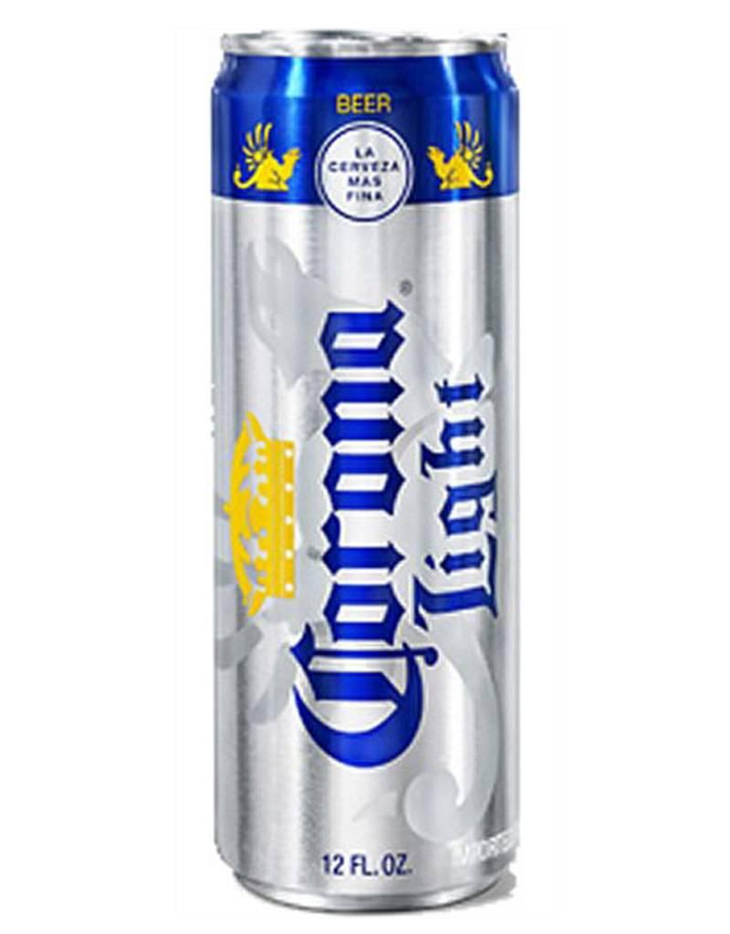 Cerveceria Modelo Corona Light Cerveza, 12pk Beer Cans