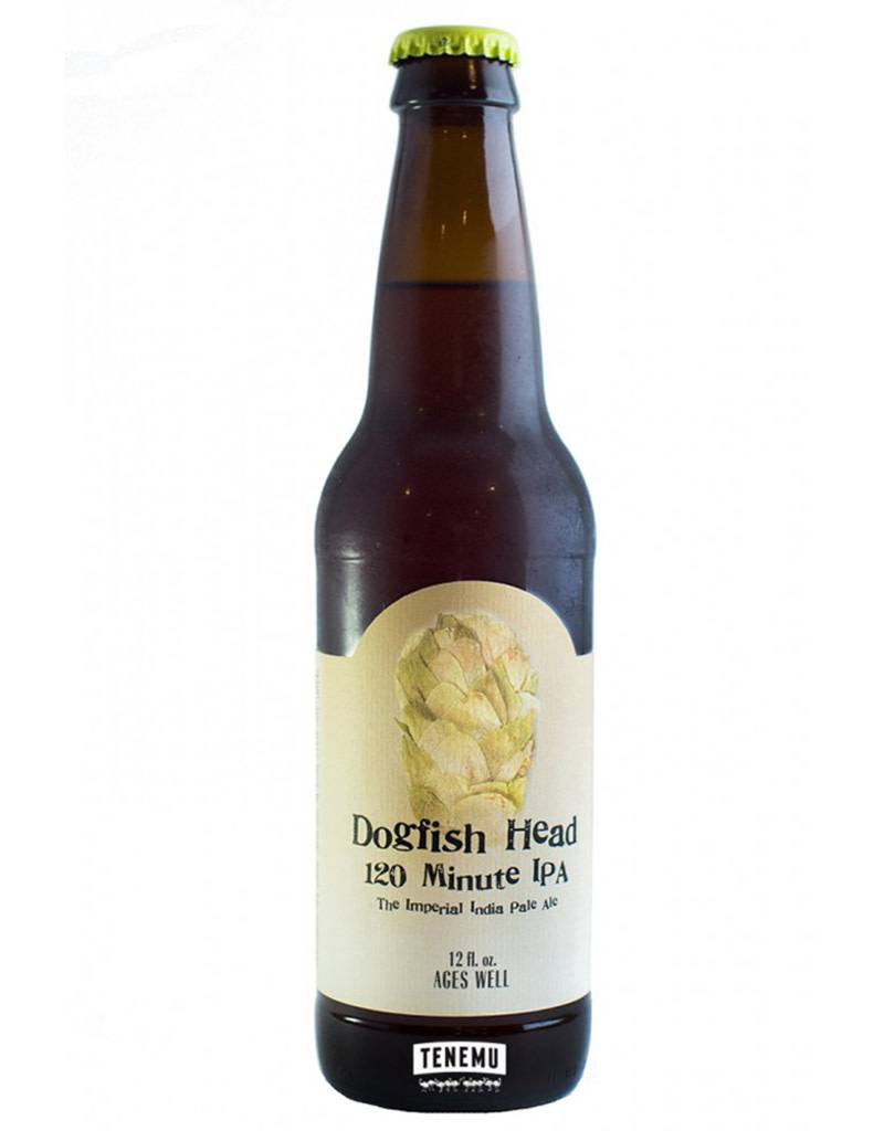 Dogfish Head Craft Brewery Dogfish Head 120 Minute India Pale Ale Beer, Delaware