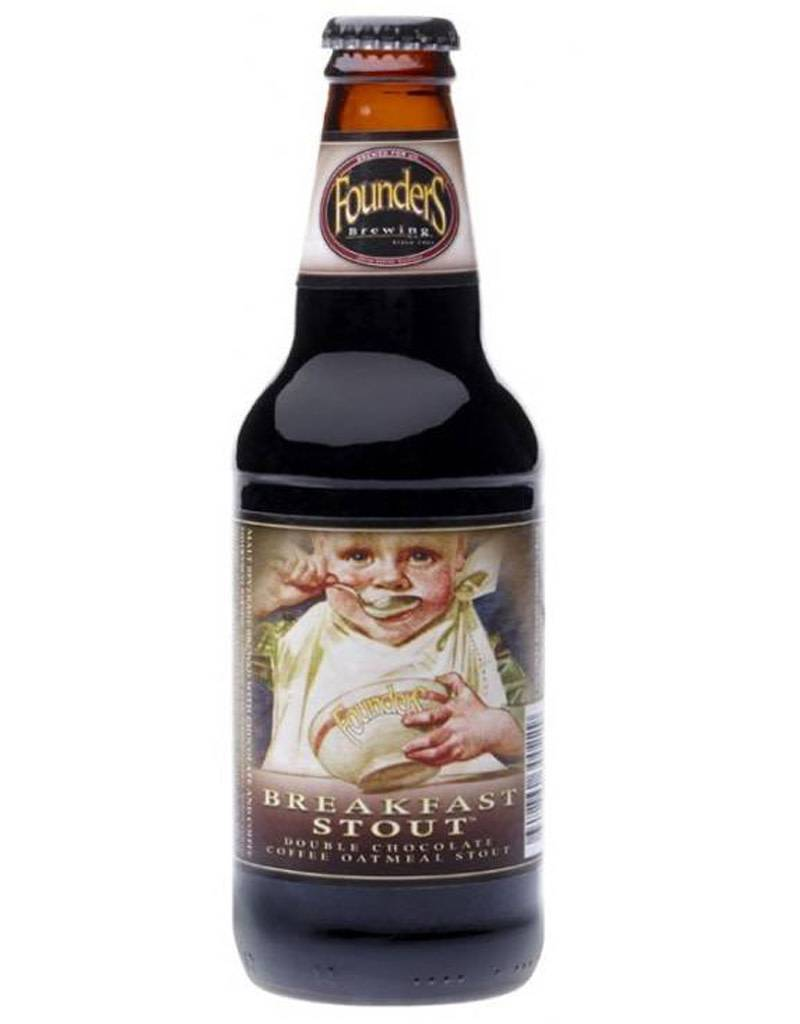 Founders Brewing Co. Breakfast Stout, 4pk Bottles