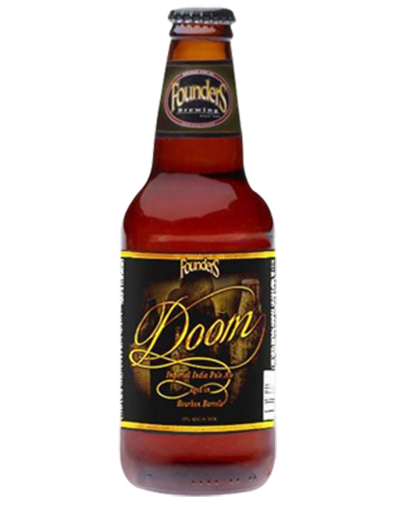 Founders Founders Brewing Co. Doom Imperial India Pale Ale aged in Bourbon Barrels, Pint