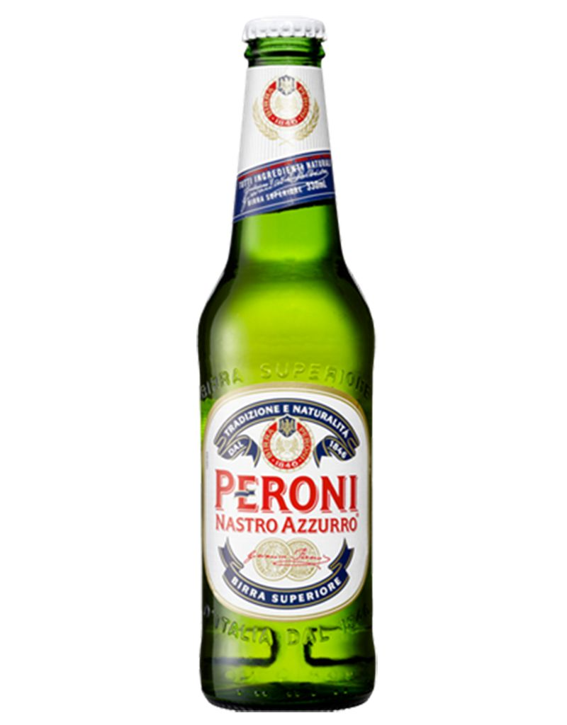Peroni Nastro Azzurro Beer, 6pk Bottles