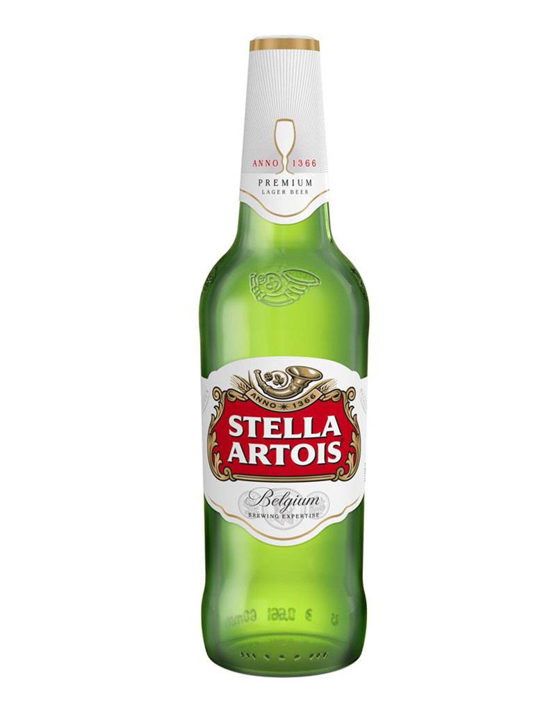 Stella Artois Beer, Belgium, 6pk Bottles