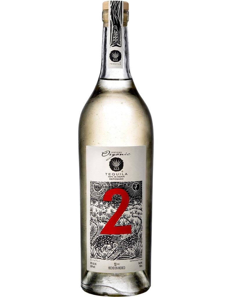123 Organic Tequila 'Dos' Reposado, Mexico