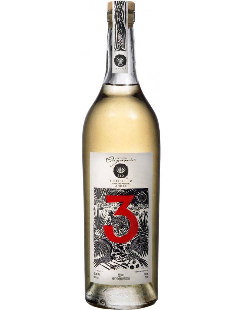 123 Organic Tequila 'Tres' Añejo
