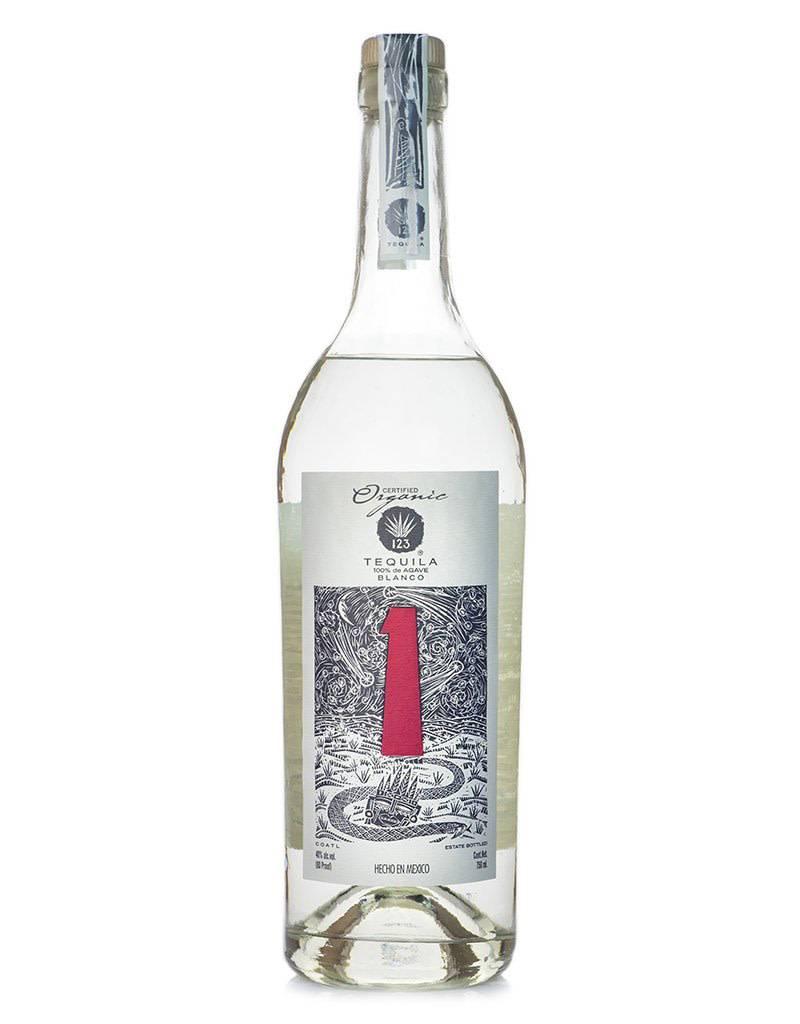 123 Organic Tequila 'Uno' Blanco, Mexico