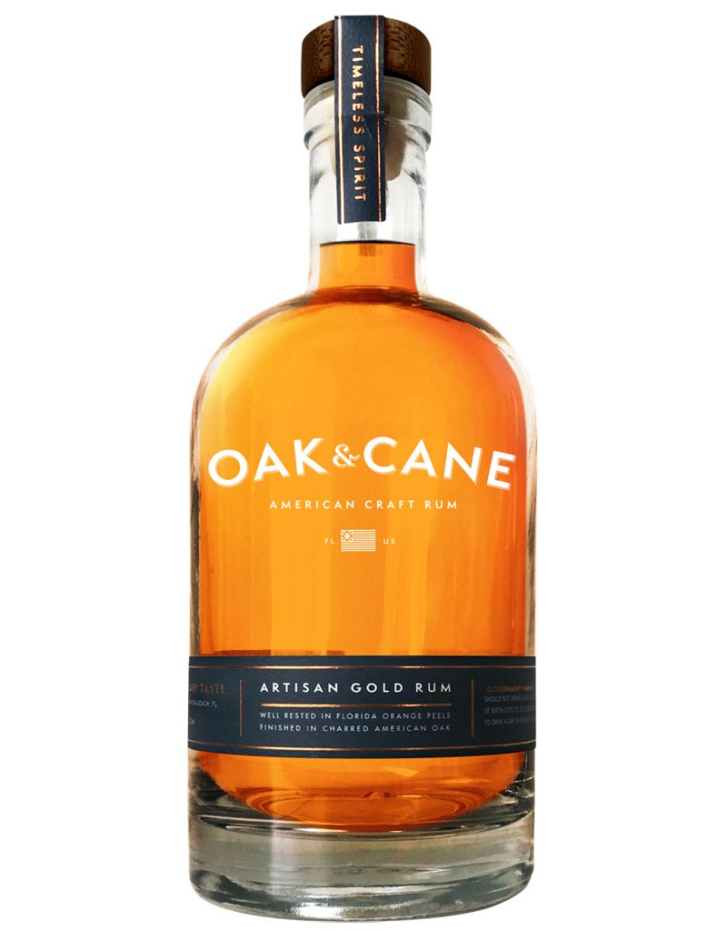 Oak & Cane Artisan Gold Rum, Florida