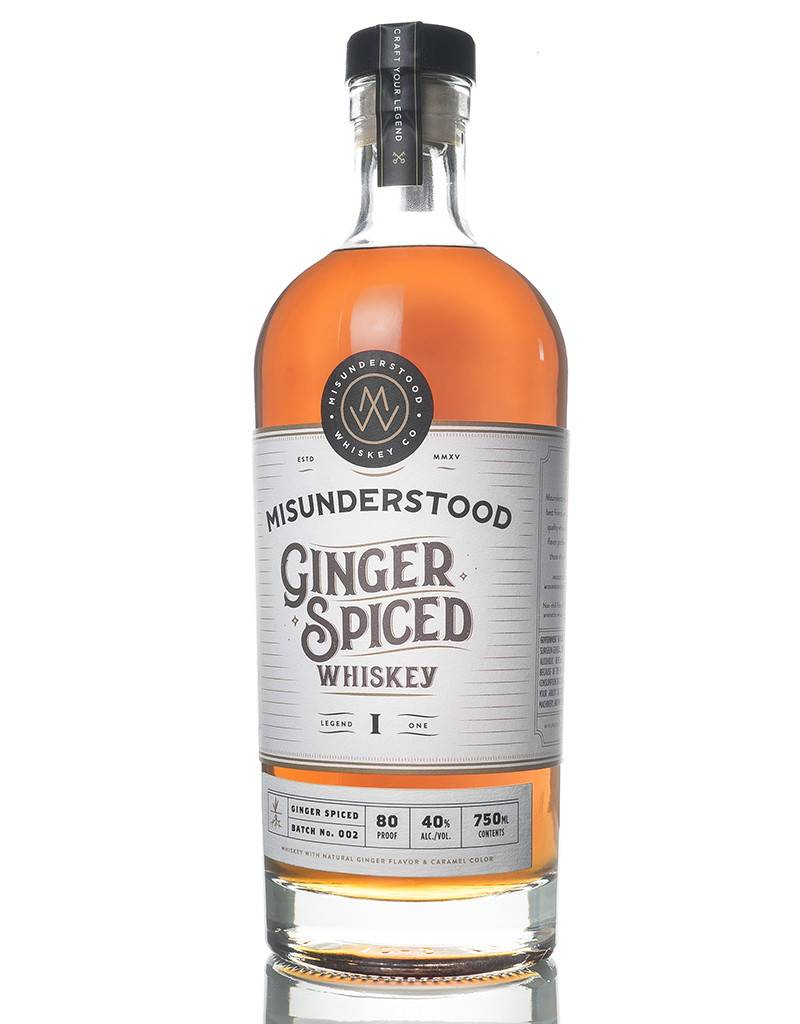 Misunderstood Whiskey Co. Ginger Spiced Whiskey