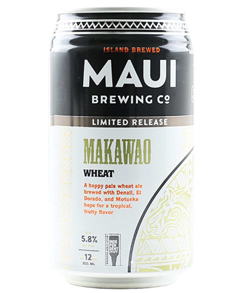 Maui Brewing Co. Maui Brewing Co. Makawao Hoppy Wheat Ale, 6pk Can