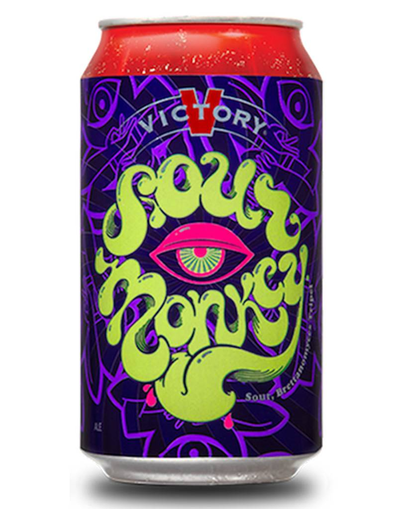Victory Brewing Co. Sour Monkey Sour Belgium, 6pk Cans