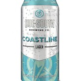 Due South Brewery Due South Coastline Lager, 16oz Single Can