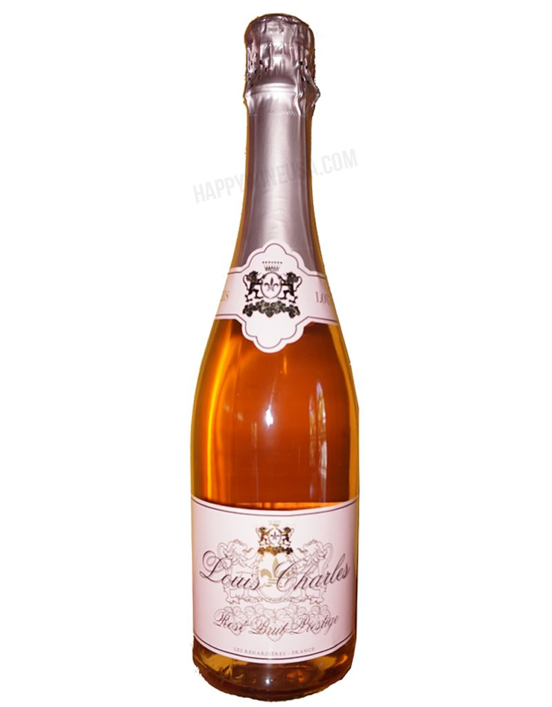 Louis Charles Louis Charles Brut Prestige Sparkling Rosé, France