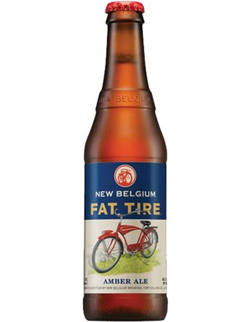 New Belgium Fat Tire Beer, 6pk Bottles