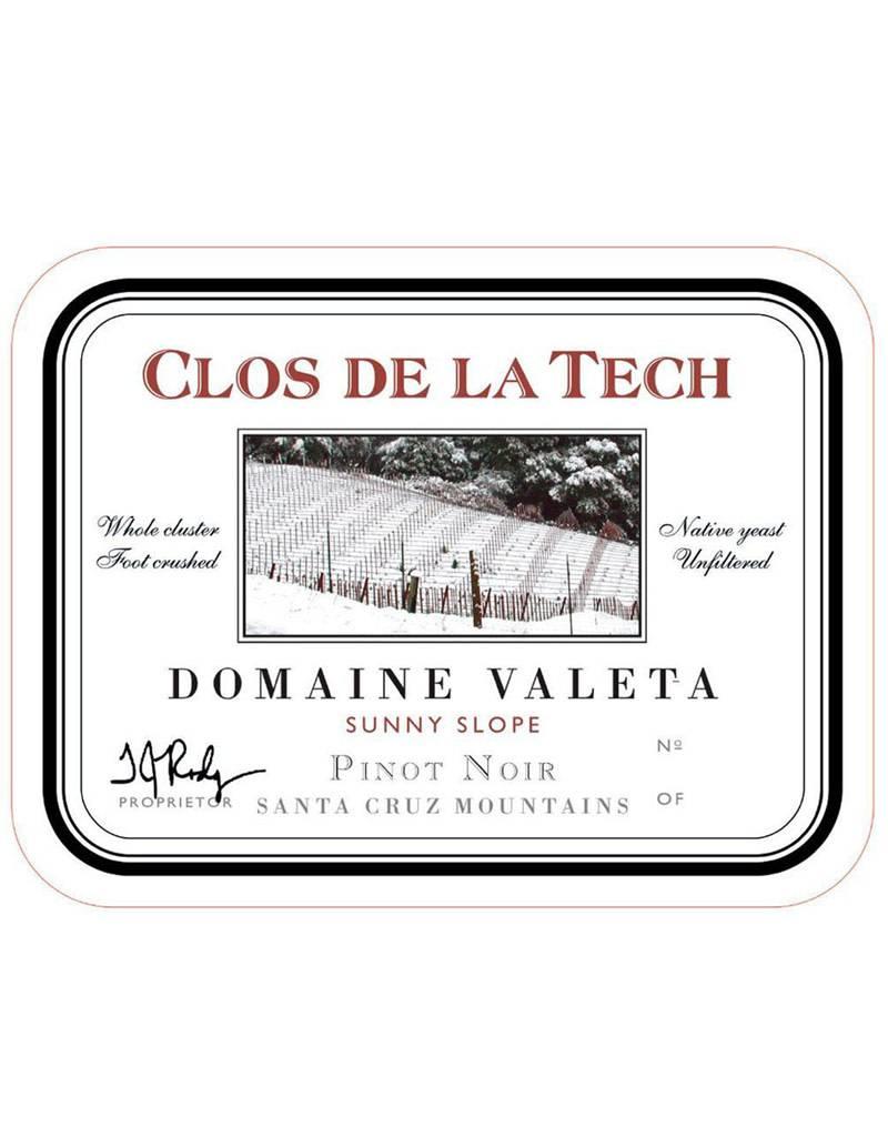 Clos de La Tech 2014 Domaine Valeta Sunny Slope, Pinot Noir, Santa Cruz Mountain, California