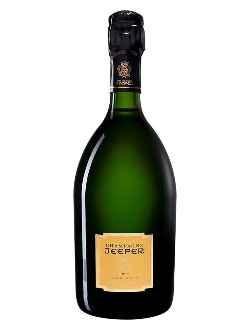 Champagne Jeeper Champagne Jeeper The Grande Reserve Chardonnay, Blanc de Blanc, France