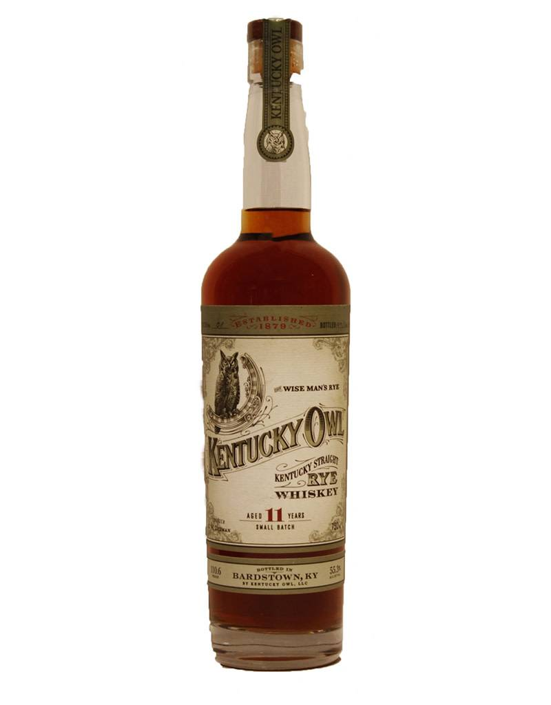 Kentucky Owl 11 Year Old Rye Whiskey